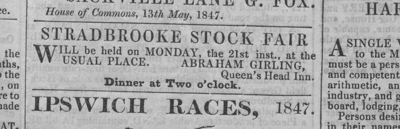 Strad stock fair 1847 advt QH Abr Girling.jpg