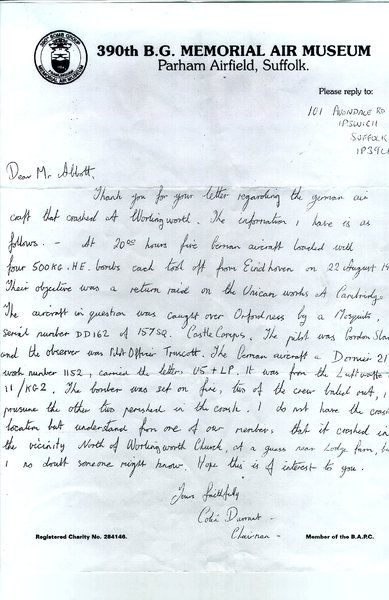 UM023 letter re bomber shot down.jpg