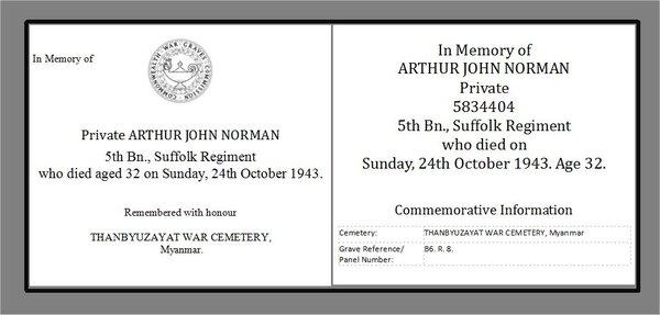 CWG in memory of Arthur John Norman WW2 AR.jpg