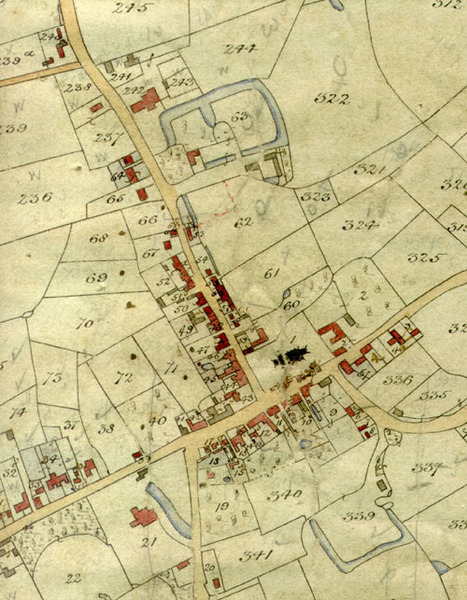 tithe map extract village centre.jpg