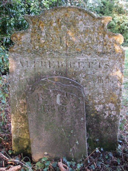 94 1 Alfred Betts and footstone GR 1835.jpg