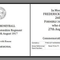Remeberance Frederick Honeyball AR.jpg
