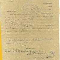 Alf Chambers - prisoner of war notification AR.jpg