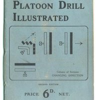GN Esson\'s Platoon Drill Illustrated - price 6 pence.jpg