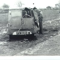 Local Service Van clipped by and aircraft - The driver escaped unhurt.AR 2  WW2.jpg