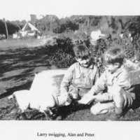 Alan, Peter, Edie and terriers.jpg