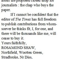 AR transcription letter to the Times 19.11.74 Shaw.jpg