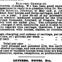 Drball letterrecd by BMJ 1903 same page electric carriage.JPG
