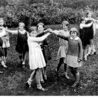 school dancing in garden c1932.jpg