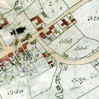 Tithe Map extract church to doctors lane.jpg