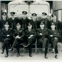 Fire Brigade Group Photograph - series