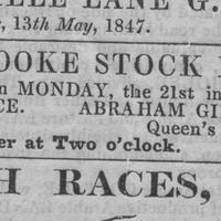 Strad stock fair 1847 advt QH Abr Girling.jpg