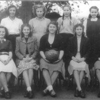 Girls Netball Team 1949