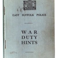 East Suffolk Police Wartime Hints dd July 1939 Confidential.jpg