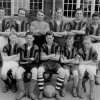 The School Football Team 1951-52